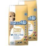 Forza10 Puppy Junior z kurczakiem i ziemniakami duże i średnie rasy 30kg