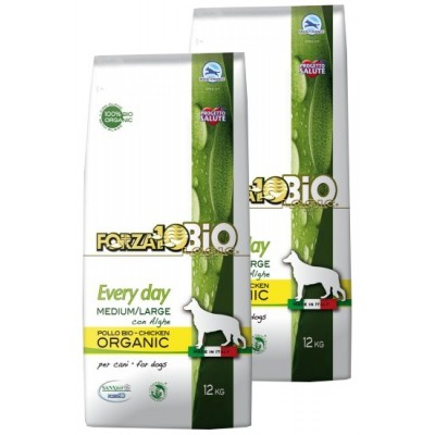 Forza10 Medium/Maxi Every day BiO kurczak i algi 2x12kg (24kg)