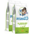 Forza10 All Breeds Maintenance z rybą i ryżem 2x2kg (4kg)