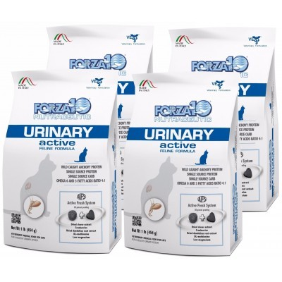 Forza10 Urinary Active kot 4 x 454g