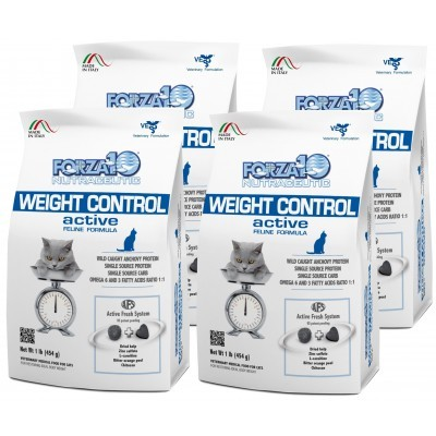 Forza10 Weight Control Active kot 4 x 454g