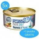 Forza10 Diet pasztet 1,02kg (5x170g + 170g GRATIS)