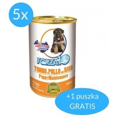 Forza10 Maintenance Puppy pasztet 2,4kg (5x400g + 400g GRATIS)