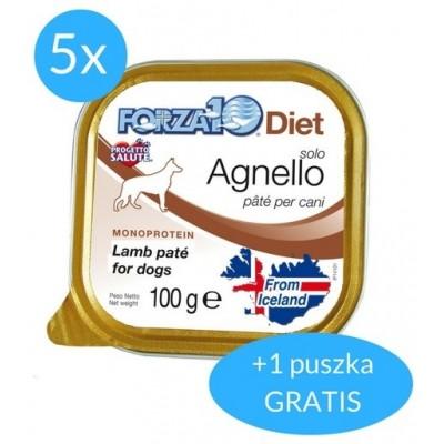 Forza10 Solo Diet dla psa 600g (5x100g + 100g GRATIS)
