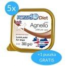 Forza10 Solo Diet dla psa 5x300g + 300g GRATIS (1,8kg)