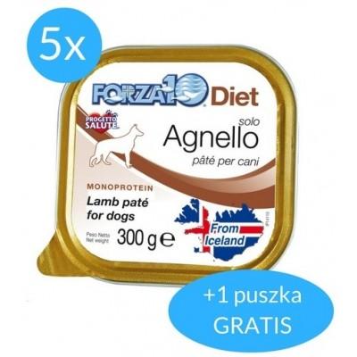 Forza10 Solo Diet dla psa 1,8kg (5x300g + 300g GRATIS)