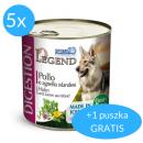 Forza10 Legend Digestion(5x312g + 312g GRATIS (1,872kg) dla psa