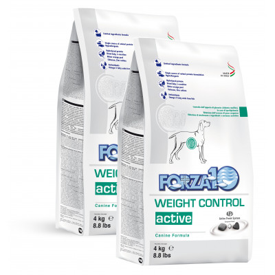 Forza10 Weight Control Active 8kg (2 x 4kg)