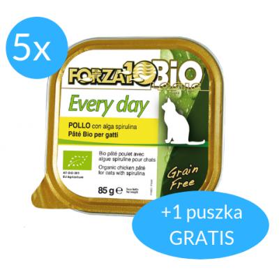Forza10 Every Day dla kota 5x85g + 85g GRATIS (600g)