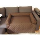 Legowisko na kanapę - brązowy jeans