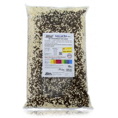 Koebers Lamm und Reis 15 kg