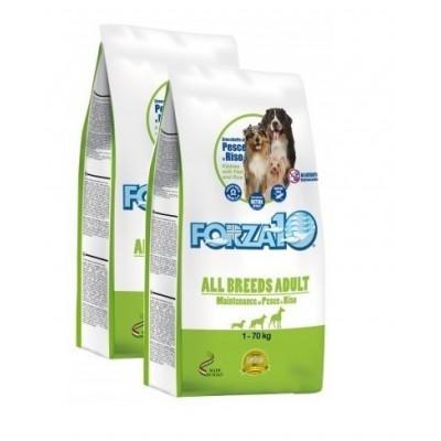 Forza10 All Breeds Adult Maintenance z rybą i ryżem 2x12,5kg (25kg) dla psa