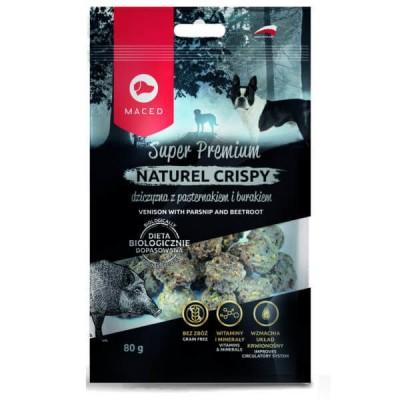 Maced Dziczyzna z pasternakiem - przysmak Super Premium Natural Crispy