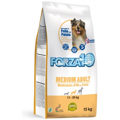 Forza10 Medium Maintenance z kurczakiem i ziemniakami dla psa